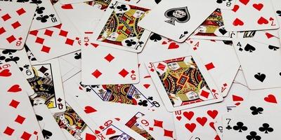 гледане на игрални карти